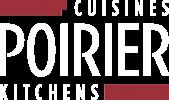 Logo Cuisine Poirier - Blanc+Rouge